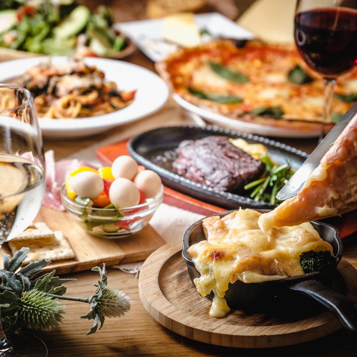 【飲み放題つき】チーズラヴァーズパーティーコース