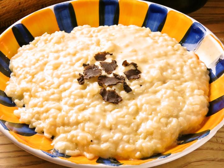 パルミジャーノ チーズリゾット(サラダ、前菜2種、本日のスープ)